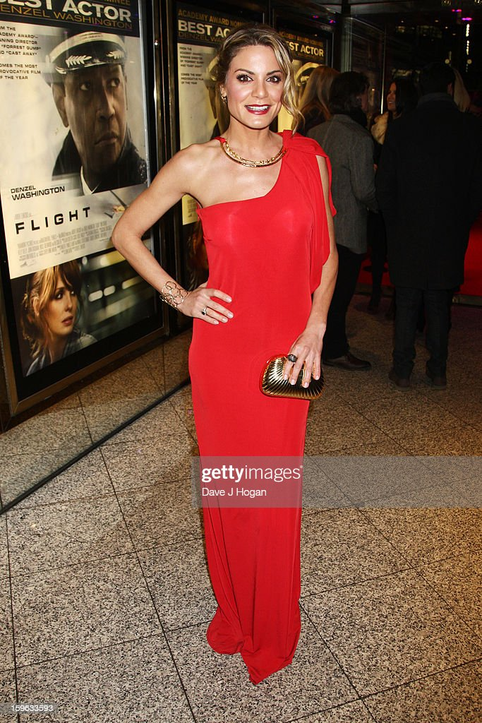 Charlotte Jackson attends the UK premiere of 'Flight' at The Empire Leicester Square on January 17, 2013 in London, England.
