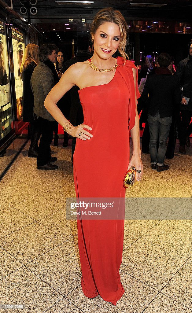 Charlotte Jackson attends the UK Premiere of 'Flight' at the the Empire Leicester Square on January 17, 2013 in London, England.