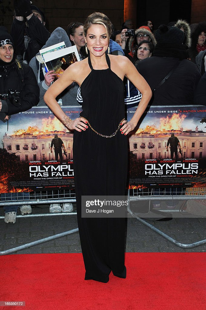 Charlotte Jackson attends the UK premiere of 'Olympus Has Fallen' at The IMAX on April 03, 2013 in London, England.
