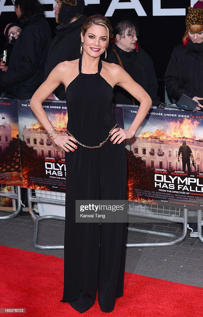 Charlotte Jackson attends the UK premiere of 'Olympus Has Fallen' at BFI IMAX on April 3, 2013 in London, England.