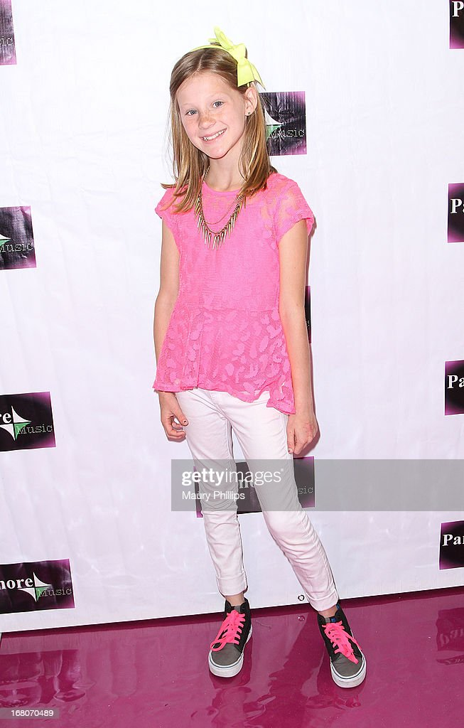 Charlotte Labadie attends Katia Nicole's Rave Music Video release party on May 4, 2013 in Los Angeles, California.