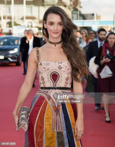 Charlotte Le Bon arrives at the opening ceremony of the 43rd Deauville American Film Festival on September 1 2017 in Deauville France