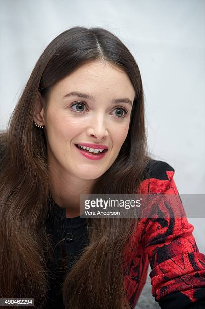 Charlotte Le Bon at 'The Walk' Press Conference at The London Hotel on September 27 2015 in New York City