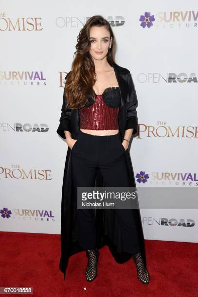 Charlotte Le Bon attend the New York Screening of 'The Promise' at The Paris Theatre on April 18 2017 in New York City