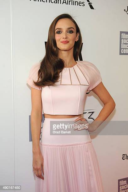Charlotte Le Bon attends the Opening Night Gala Presentation and 'The Walk' World Premiere during 53rd New York Film Festival at Alice Tully Hall at...