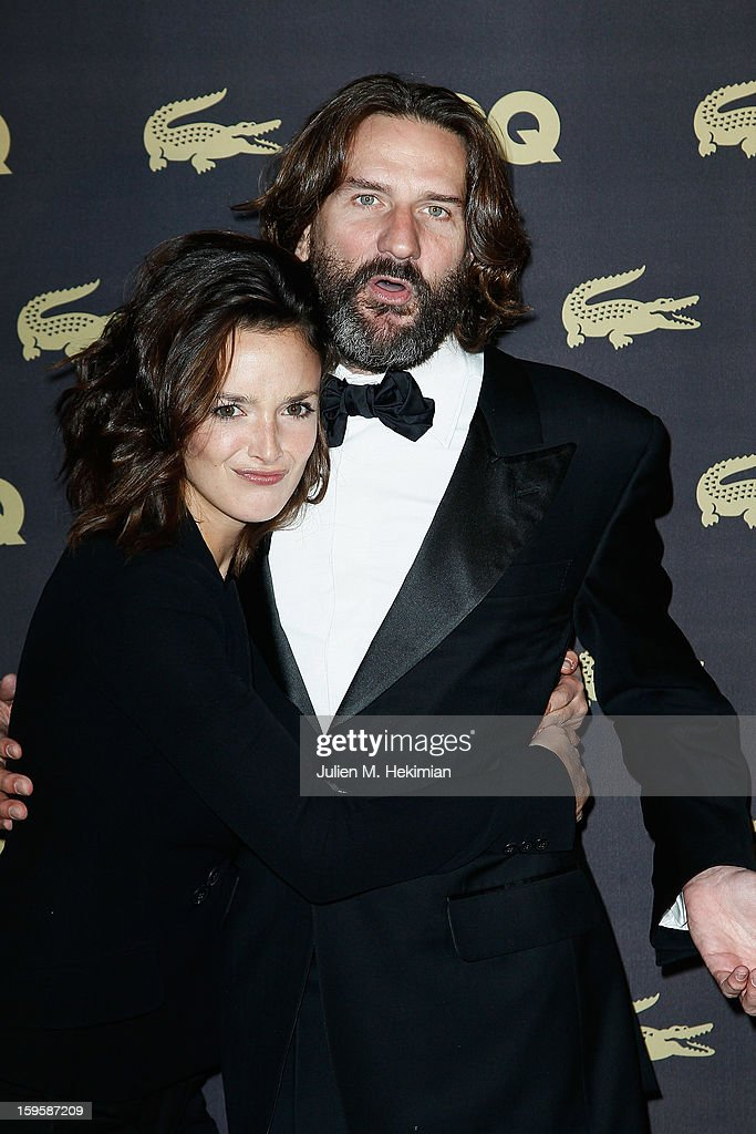 Charlotte Lebon and <a gi-track='captionPersonalityLinkClicked' href=/galleries/search?phrase=Frederic+Beigbeder&family=editorial&specificpeople=2164723 ng-click='$event.stopPropagation()'>Frederic Beigbeder</a> attend GQ Men of the year awards 2012 at Musee d'Orsay on January 16, 2013 in Paris, France.