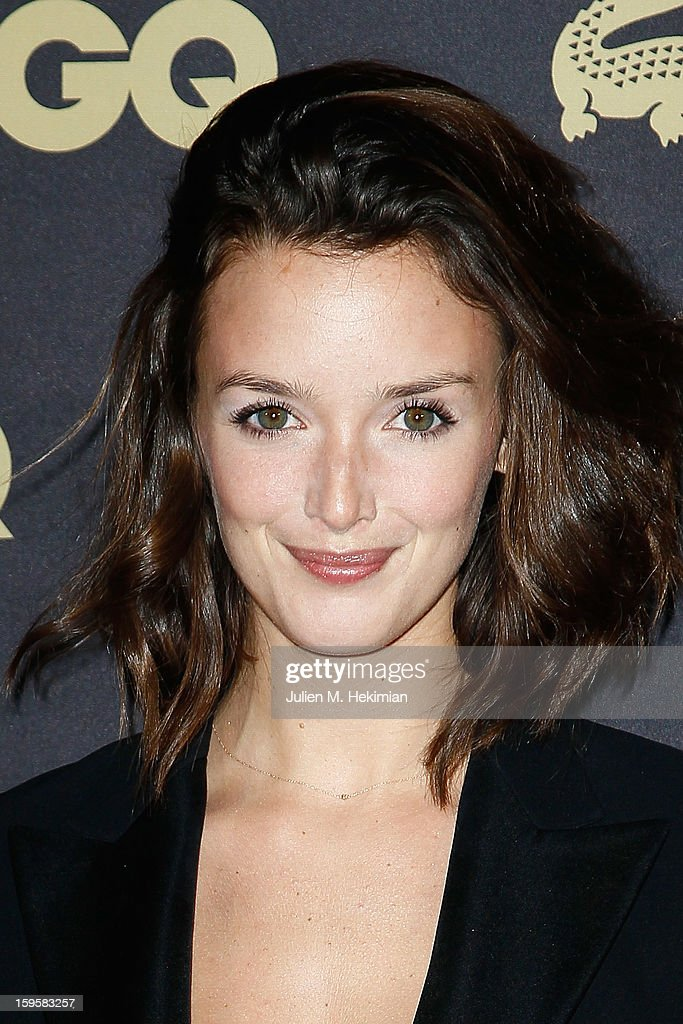 Charlotte Lebon attends GQ Men of the year awards 2012 at Musee d'Orsay on January 16, 2013 in Paris, France.
