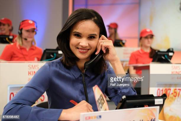 Charlotte Maihoff attends the 22nd RTL Telethon on November 23 2017 in Huerth Germany