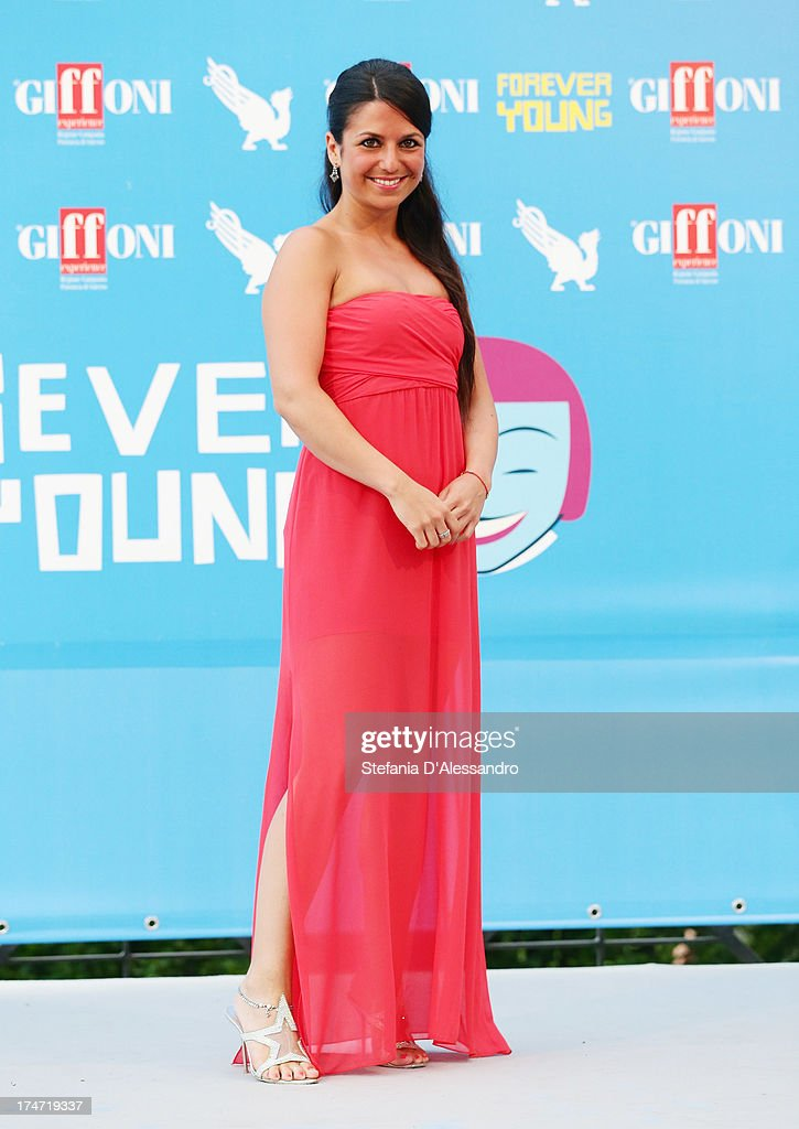 Charlotte Maria Barbera attends 2013 Giffoni Film Festival photocall on July 28, 2013 in Giffoni Valle Piana, Italy.