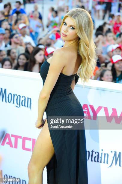 Charlotte McKinney attends Paramount Pictures' World Premiere of 'Baywatch'on May 13 2017 in Miami Beach Florida