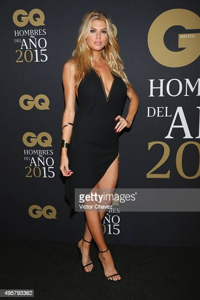 Charlotte McKinney attends the GQ Mexico Men of The Year ...