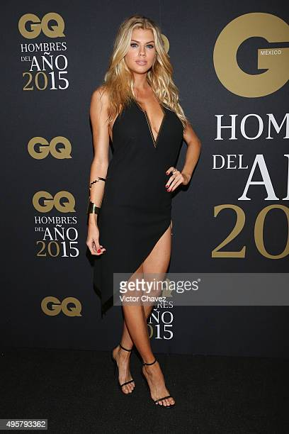 Charlotte McKinney attends the GQ Mexico Men of The Year 2015 awards at Live Aqua Bosques hotel on November 4 2015 in Mexico City Mexico