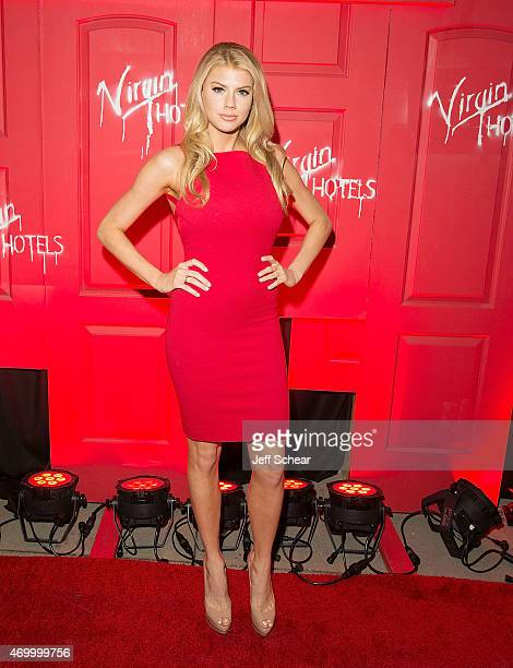 Charlotte Mckinney attends the grand opening of Virgin Hotels Chicago on April 16 2015 in Chicago Illinois