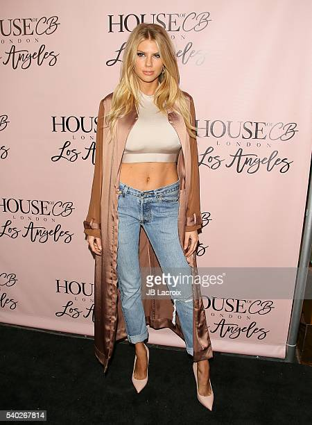 Charlotte McKinney attends the House of CB Flagship store launch on May 14 2016 in West Hollywood California