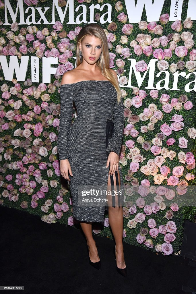 Charlotte McKinney attends the Max Mara Celebrates Zoey Deutch As The 2017 Women In Film Max Mara Face Of The Future Award Recipient event at Chateau Marmont on June 12, 2017 in Los Angeles, California.