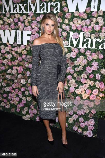 Charlotte McKinney attends the Max Mara Celebrates Zoey Deutch As The 2017 Women In Film Max Mara Face Of The Future Award Recipient event at Chateau...