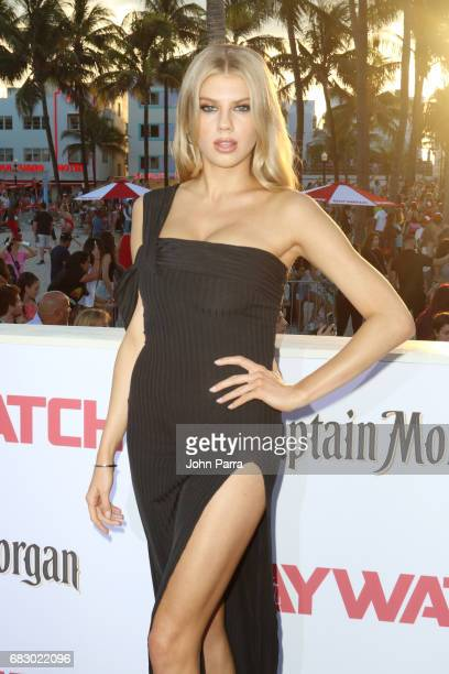 Charlotte McKinney attends the world premiere of Paramount Pictures film 'Baywatch' at South Beach on May 13 2017 in Miami Florida