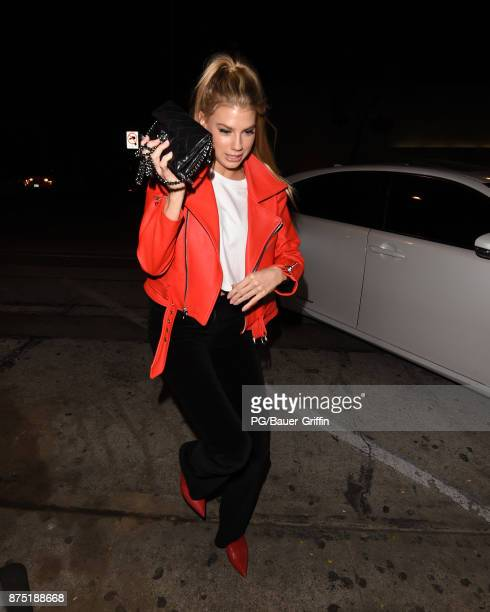 Charlotte McKinney is seen on November 16 2017 in Los Angeles California