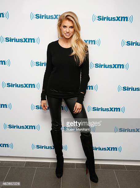 Charlotte Mckinney visits at SiriusXM Studios on February 6 2015 in New York City