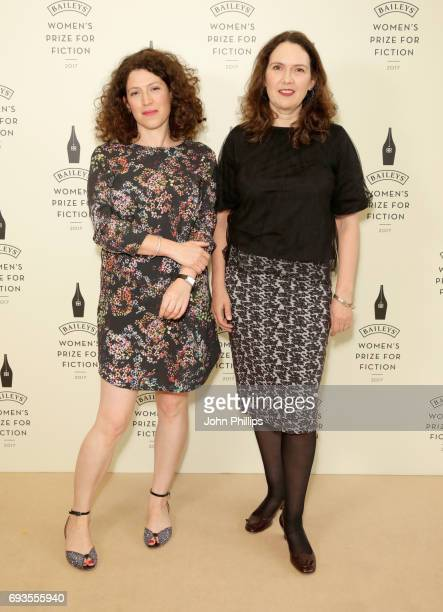 Charlotte Mendelson and Joanna Briscoe attend the Baileys Women's Prize for Fiction 2017 at the Royal Festival Hall on June 7 2017 in London England