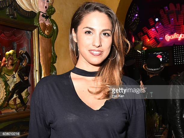 Charlotte Namura attends Balajo 80th Anniversary Party at Balajo on December 5 2016 in Paris France