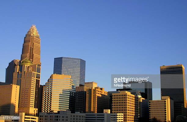 Ville de Charlotte, en Caroline du Nord