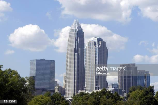 Charlotte, NC skyline