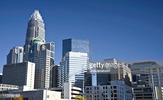 ノースカロライナ州、シャーロット金融街