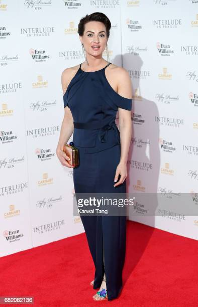Charlotte Peters attends the World Premiere of 'Interlude In Prague' at Odeon Leicester Square on May 11 2017 in London England