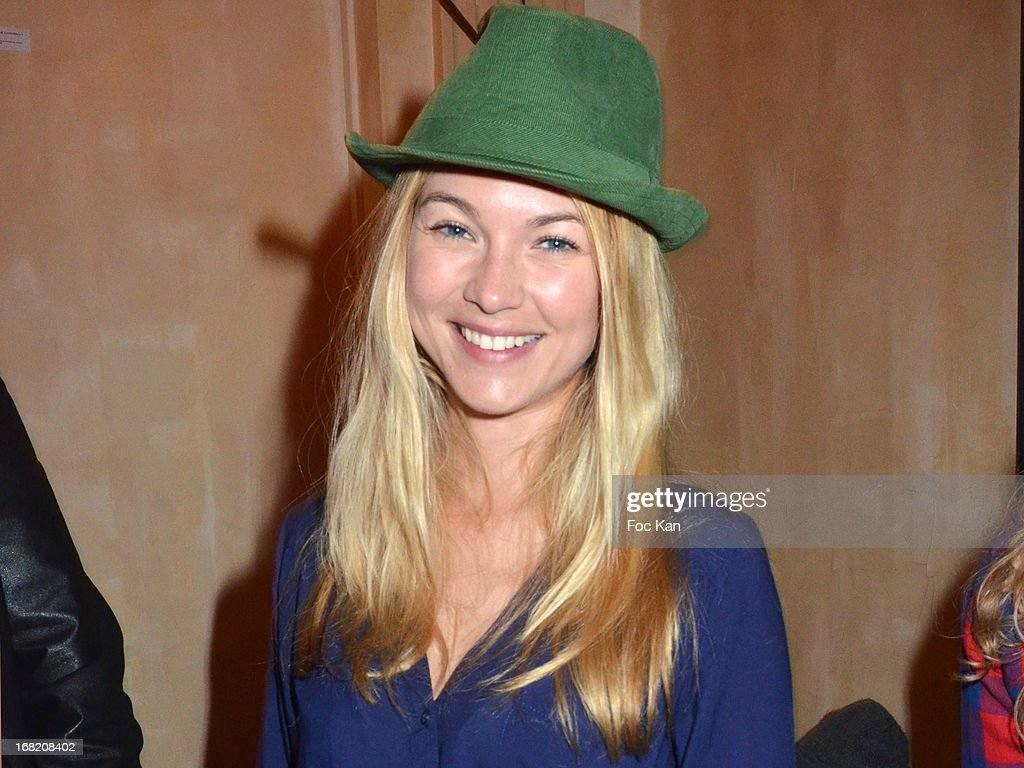Charlotte Poutrel attends the 'Speakeasy' Party At The Lefty Bar Restaurant on May 6, 2013 in Paris, France.