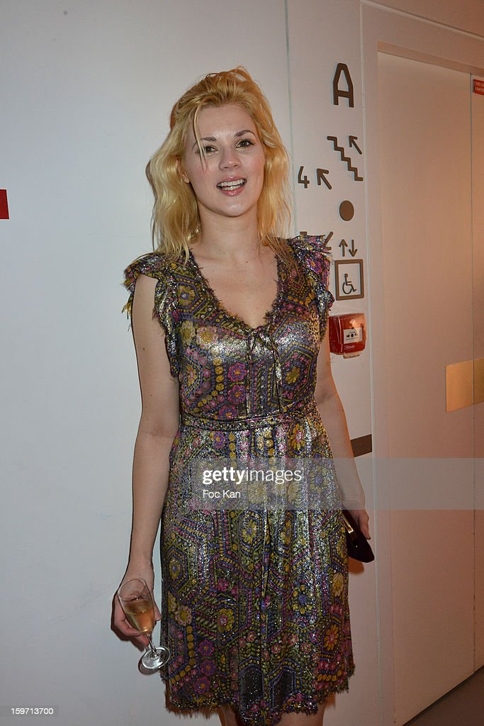 Charlotte Radford attends 'Les Lumieres 2013' Cinema Awards 18th Ceremony at La Gaite Lyrique on January 18, 2013 in Paris, France.