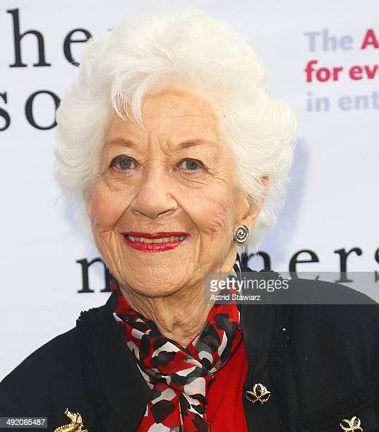 Charlotte Rae attends the 'Mothers And Sons' special performance benefiting The Actors Fund at John Golden Theatre on May 18 2014 in New York City