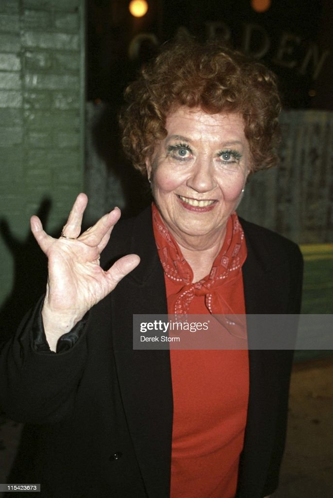 """Charlotte Rae Exits the Westside Theater After """"The Vagina Monologues"""" -"""