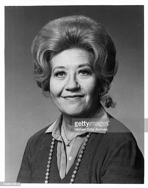 Charlotte Rae in a publicity portrait from the television series 'The Facts Of Life' 1980