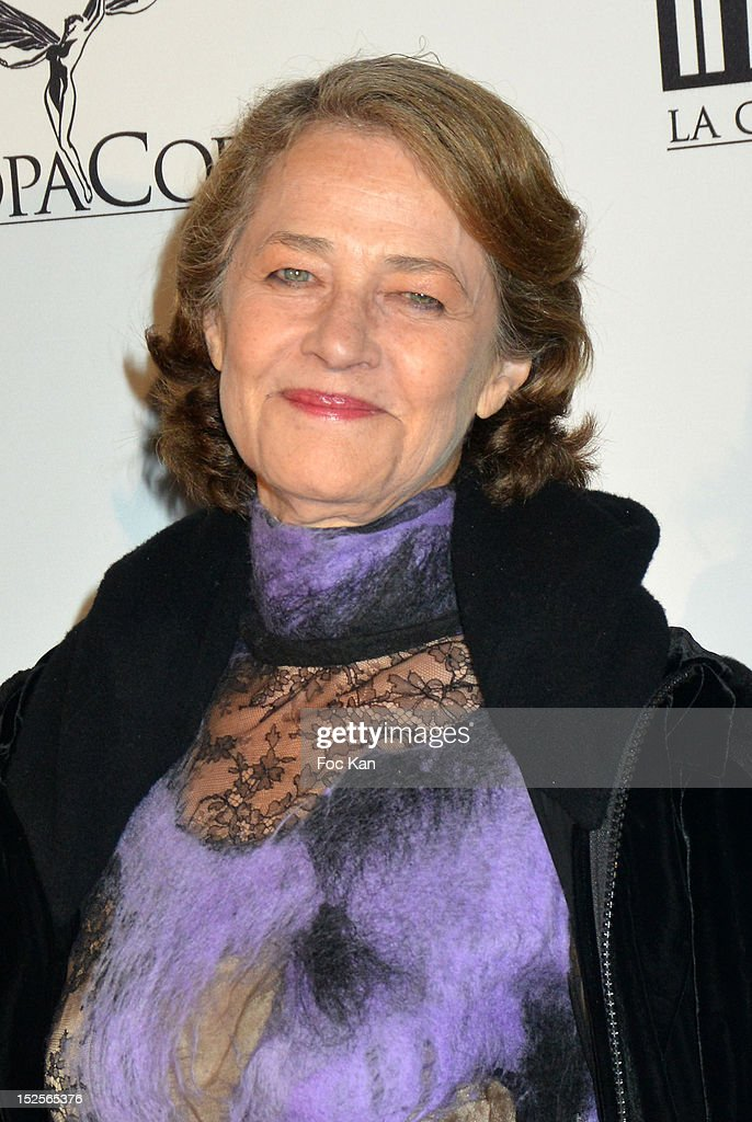 Charlotte Rampling attends 'La Cite Du Cinema' Launch - Red Carpet at Saint Denis on September 21, 2012 in Paris, France.