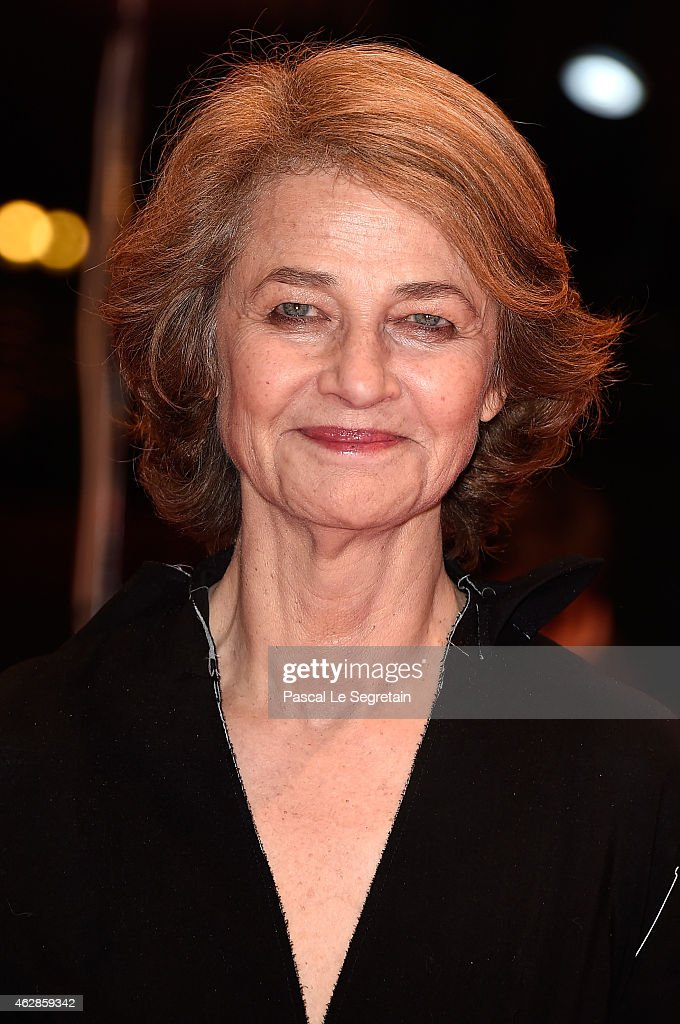 <a gi-track='captionPersonalityLinkClicked' href=/galleries/search?phrase=Charlotte+Rampling&family=editorial&specificpeople=212770 ng-click='$event.stopPropagation()'>Charlotte Rampling</a> attends the '45 Years' premiere during the 65th Berlinale International Film Festival at Berlinale Palace on February 6, 2015 in Berlin, Germany.