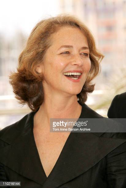 Charlotte Rampling during 2005 Cannes Film Festival 'Lemming' Photocall at Palais De Festival in Cannes France