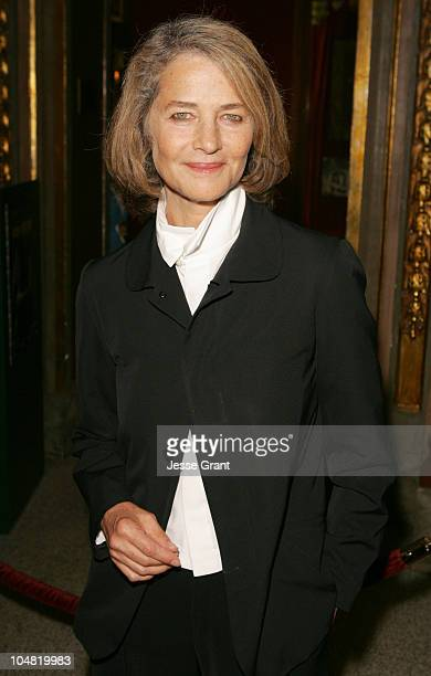 Charlotte Rampling during 2005 Toronto Film Festival 'Vers le Sud' Premiere at Visa Screening Room in Toronto Canada