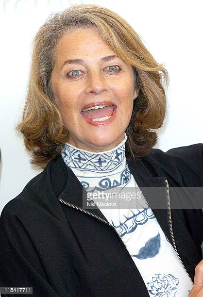 Charlotte Rampling during 2005 Venice Film Festival 'VERS LE SUD' Photocall at Venice Lido in Venice Italy