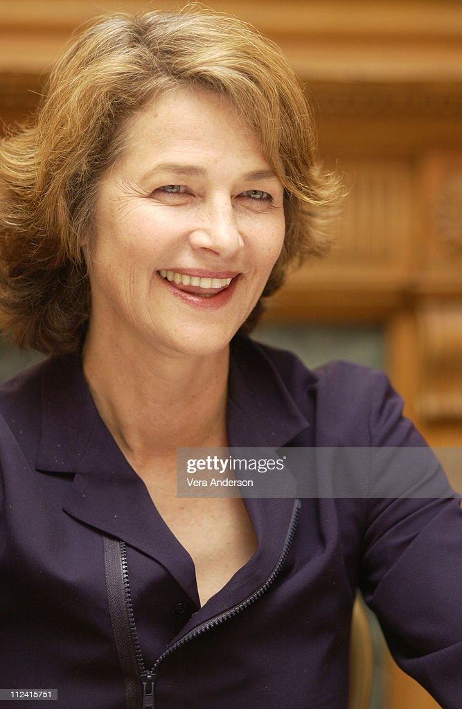 Swimming Pool Press Conference With Charlotte Rampling And Francois Ozon Getty Images