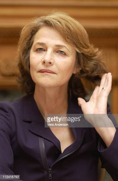 Charlotte rampling stock fotos und bilder getty images for Charlotte rampling the swimming pool