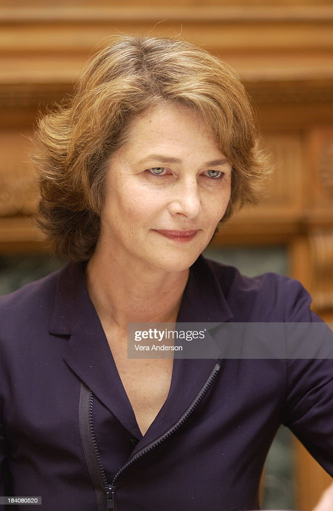 Swimming pool press conference with charlotte rampling and francois ozon getty images for Charlotte rampling the swimming pool