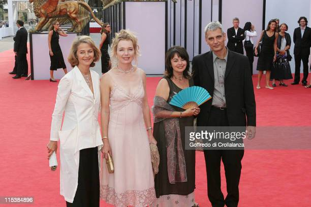 Charlotte Rampling Karen Young Louise Portal and Laurent Cantet