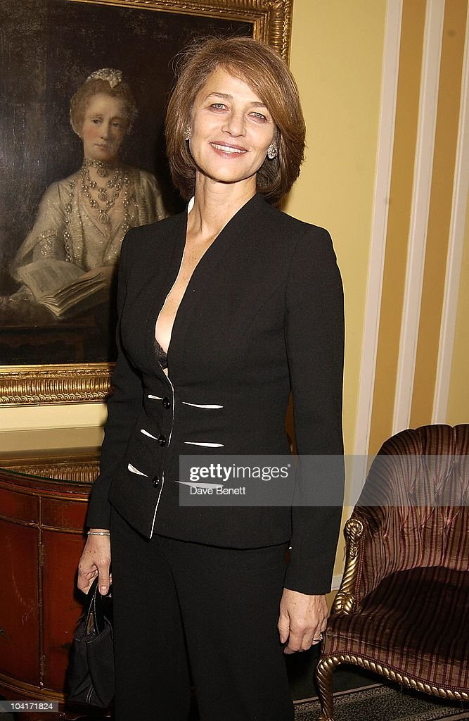 Charlotte Rampling, London Film Critics Circle Awards 2002, At The Dorchester Hotel, London
