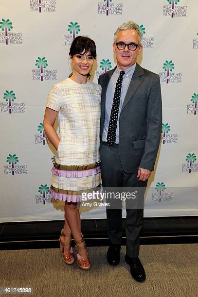 Charlotte Riley and Lex Sidon attend the US Premiere of 'Grand Street' during the 26th Annual Palm Springs International Film Festival Film January 8...