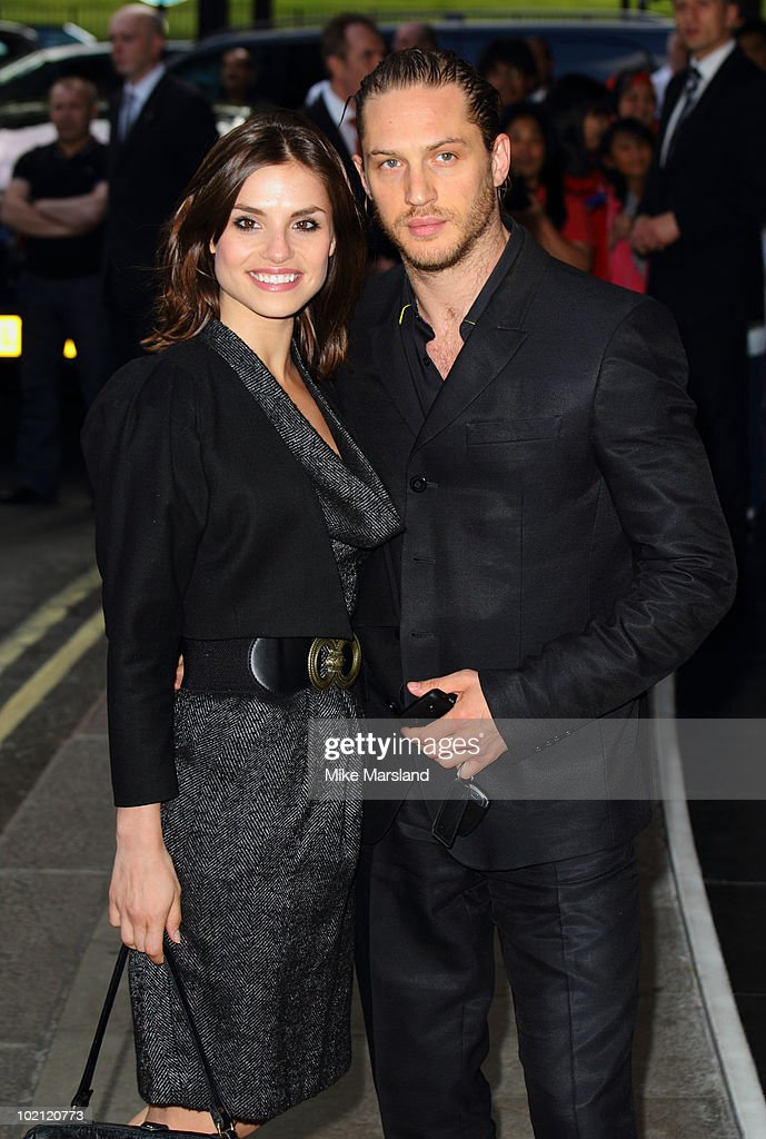 Charlotte Riley and Tom Hardy attend the English National Ballet's Summer Party at The Dorchester on June 15, 2010 in London, England.