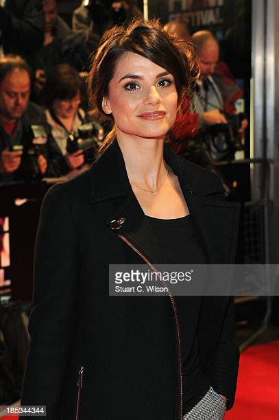 Charlotte Riley attends a screening of 'Locke' during the 57th BFI London Film Festival at Odeon West End on October 18 2013 in London England