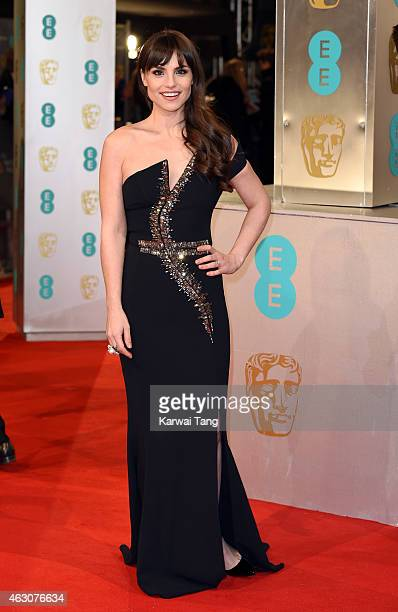 Charlotte Riley attends the EE British Academy Film Awards at The Royal Opera House on February 8 2015 in London England