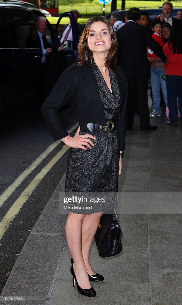 Charlotte Riley attends the English National Ballet's Summer Party at The Dorchester on June 15, 2010 in London, England.