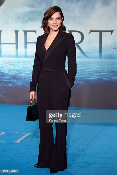 Charlotte Riley attends the European Premiere of 'In The Heart Of The Sea' at Empire Leicester Square on December 2 2015 in London England
